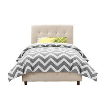 Andover Mills Upholstered Panel Bed & Reviews | Wayfair