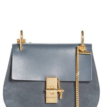 Chloé 'Drew' Leather & Suede Crossbody Bag | Nordstrom