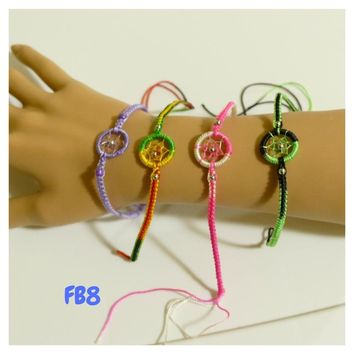 "100 Friendship Bracelets Assorted Model FB8 ""Dream Catcher"" Peruvian Friendship Bracelets"