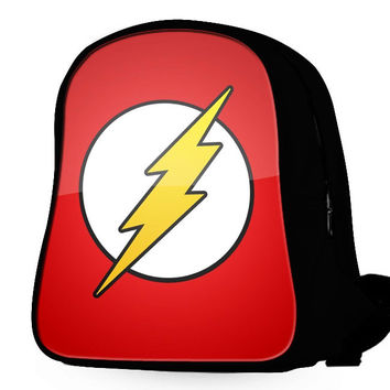 Red Flash Logo Backpack