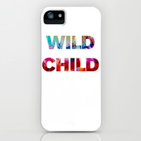 WILD CHILD iPhone & iPod Case by Good Sense