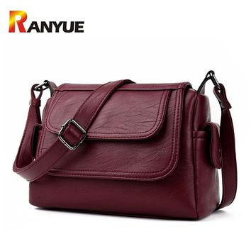 Luxury Brand Genuine Leather Bag Designer Handbags High Qualiry Single Shoulder Bag Women Messenger Crossbody Bags Tote Bolsos