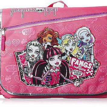 Monster High Pink Messenger Bag