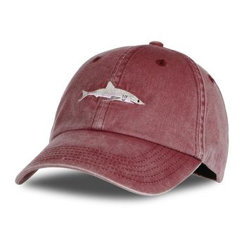 2017 Top Fashion Snapback Hat Dad Hat Washed Baseball Cap Pink Shark Embroidery Hat For Women Gorras Planas Golf Bosco Sport