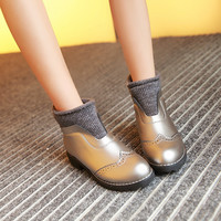 Wool Ankle Boots Women Shoes Fall|Winter 6858