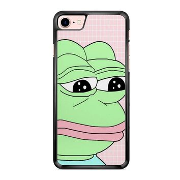 Aesthetic Pepe Frog iPhone 7 Case