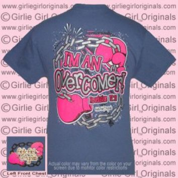 Overcomer - Revelation 12:11 (Short Sleeve) - $16.99 : Girlie Girl™ Originals - Great T-Shirts for Girlie Girls!