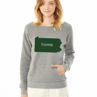 pennsylvania home ladies sweatshirt