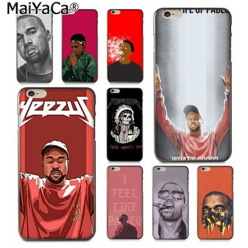 MaiYaCa Kanye Omari West Coque New Arrival Fashion phone case cover for Apple iPhone 8 7 6 6S Plus X 5 5S SE XS XR XS MAX Cover