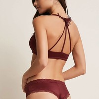 Caged Bra and Panty Set