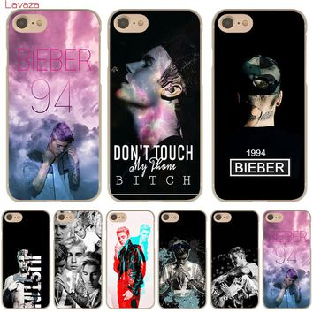 Lavaza Justin Bieber Hard Phone Case for Apple iPhone X 10 8 7 6 6s Plus 5 5S SE 5C 4 4S Cover Coque Shell