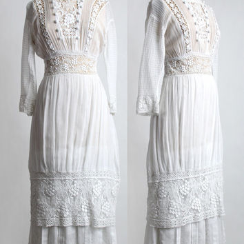 1910s Edwardian Gown