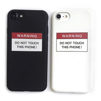 Don't Touch This Phone Cases For iPhone