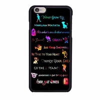all disney quotes peter pan ariel lion king case for iphone 6 6s