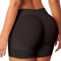 Women Mesh Butt  Lifter hip waist pants explosion Enhancer  and hip  short  underwear without padding