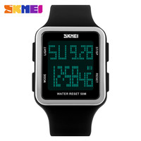 SKMEI Popular Waterproof Women Digital Watch Fashion Multifunctional Student Sports Watches For Boy Girls Men Wristwatches