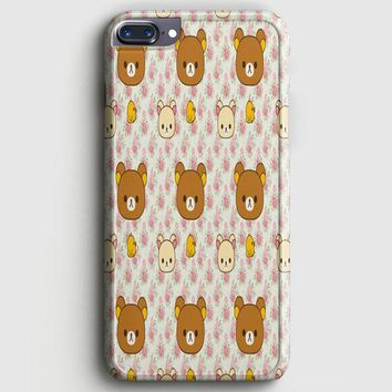 Cute Bear Rilakkuma iPhone 8 Plus Case | casescraft
