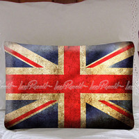 Grunge UK Flag Pillow Case Cover Collectors Gift