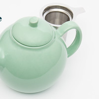 The Bubble Teapot (Peppermint) - Beautiful Porecelain Teapot With Stainless Steel Infuser | DavidsTea