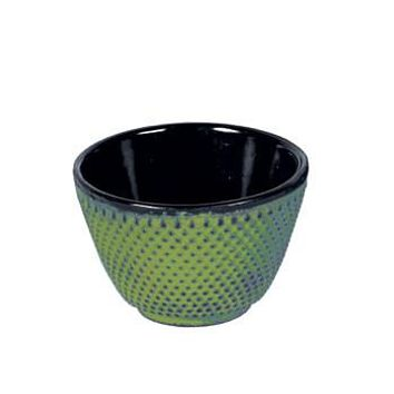 Japanese Cast Iron Teacup - Hobnail Pattern