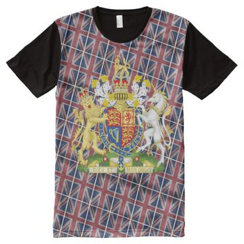 GREAT BRITAIN COA All-Over-Print SHIRT
