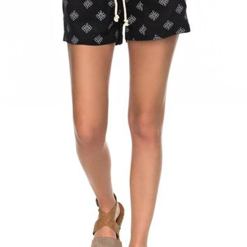 Roxy Oceanside Printed Drawstring Shorts | Nordstrom