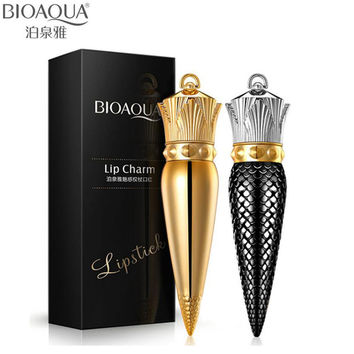 BIOAQUA Queen Scepter Velvet Matte Lipstick Makeup Lip Balm Make Up Moisturizer Sexy Lip Stick Cosmetics Beauty Ageless