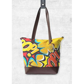 COMIC POP ART BAG