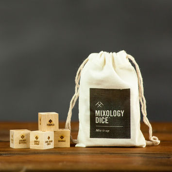 Mixology Dice Pouch