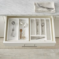 Marble Flatware Tray