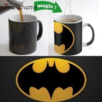 Batman Coffee Mugs Color Changing