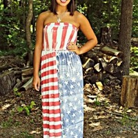 Made In America Maxi Dress