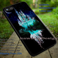 Disney Castle in The Starry Sky iPhone 6s 6 6s+ 5c 5s Cases Samsung Galaxy s5 s6 Edge+ NOTE 5 4 3 #cartoon #disney #animated #disneycastle dt