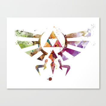 Zelda Canvas Print by monnprint