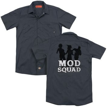 Mod Squad - Mod Squad Run Simple (Back Print) Adult Work Shirt