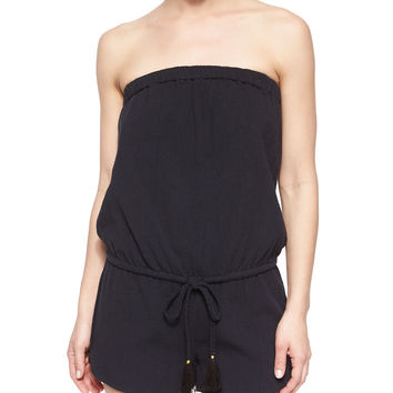 Connely Strapless Short Jumpsuit, Size:
