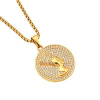 Stylish Gift Jewelry New Arrival Shiny Alloy Necklace [10768843267]