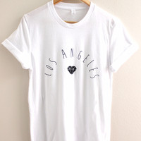 Los Angeles Diamond Graphic Unisex Tee