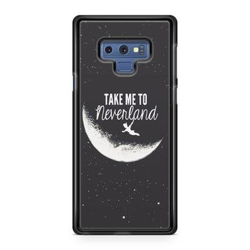 Peter Pan, Take To Me Neverland Samsung Galaxy Note 9 Case | Casefruits