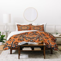 Lisa Argyropoulos Retroscopic In Sunset Duvet Cover