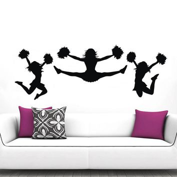Best gym posters products on wanelo for Cheerleader wall mural