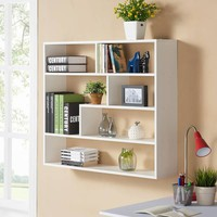 Danya B. Large Rectangular Wall-Mounted Shelf Unit