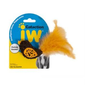 JW Pet Cataction Bird with Feather Tail