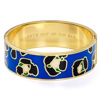 kate spade new york Cat's Out of the Bag Idiom Bangle