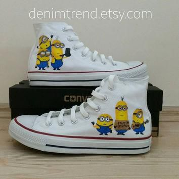 Minion Shoes Converse - 6