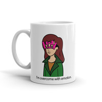 MTV Daria 90's Kid Cartoon Humor Sarcasm Ceramic White Coffee Mug - Case15
