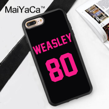 Ron Weasley Harry Potter Soft TPU Skin Mobile Phone Case Funda For iPhone 7 7 Plus 6 6S Plus 5 5S 5C SE 4S Back Cover Skin Shell
