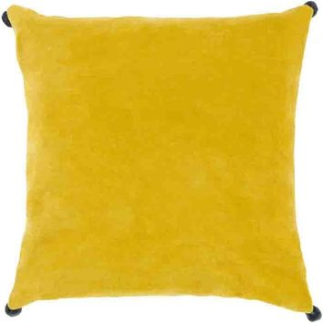 Velvet Poms ~ Bright Yellow