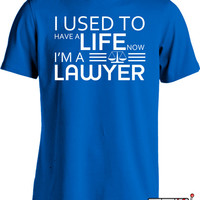 Funny Lawyer Shirt Gifts For Lawyers Nerd T Shirt Geekery Joke Mens Tee MD-135