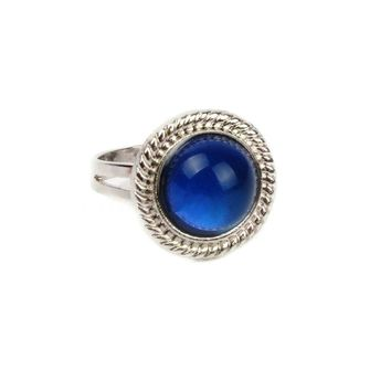Fine Jewelry Sun Mood Ring Temperature Change Color Mood Rings for Women Men Fine Jewelry present party for girlfriend Guest